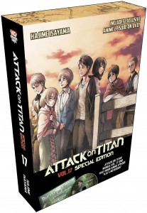 Attack on Titan Volume 17 LE