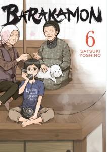 Barakamon Volume 6 Header