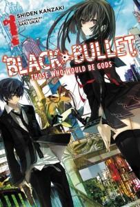 Black Bullet Novel 1 Cover