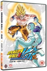Dragon Ball Z Kai Season 2 UK DVD Cover