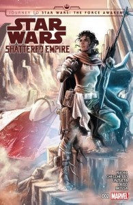 Star Wars Shattered Empire Issue 2 Cover