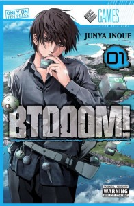 BTOOOM Volume 1 Cover