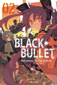 Black Bullet Volume 2 Cover
