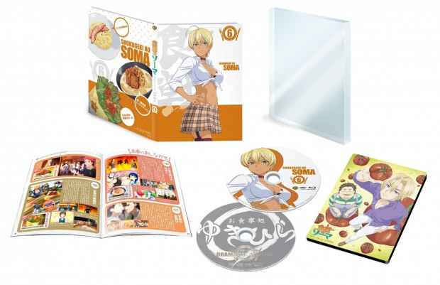 Food Wars Japanese Volume 6 Packaging (click for larger)