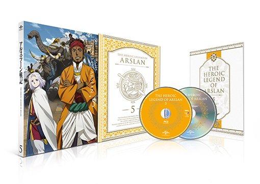 Heroic Legend of Arslan Japanese Volume 5 Packaging