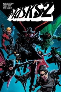 Masks 2 Issue 8 Cover