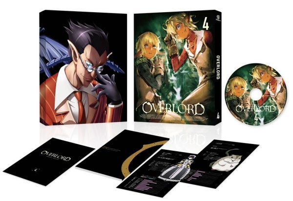 Overlord Japanese Volume 4 Packaging