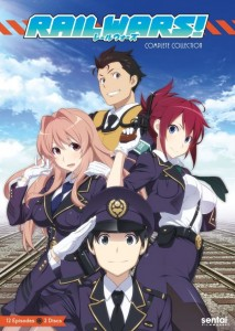 Rail Wars Complete DVD Cover