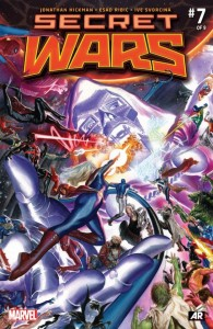 Secret Wars Issue 7 Cover