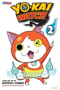 Yo-Kai Watch Volume 2 Cover