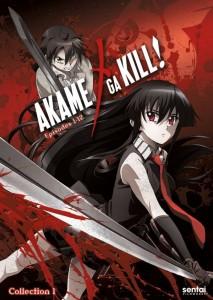 Akame ga Kill Collection 1 DVD Cover