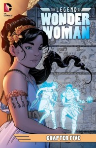 Legend of Wonder Woman Issue 5 Cover