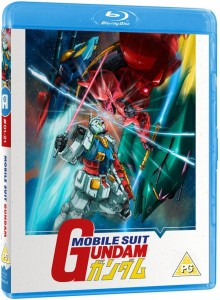 Mobile Suit Gundam Part 1 UK Blu-ray Cover