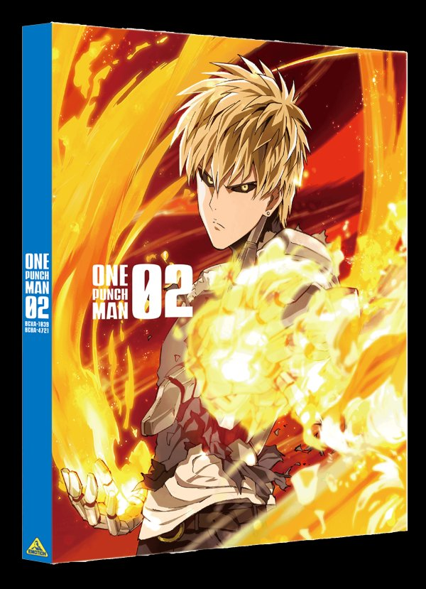 One-Punch Mana Japanese Volume 2 Cover