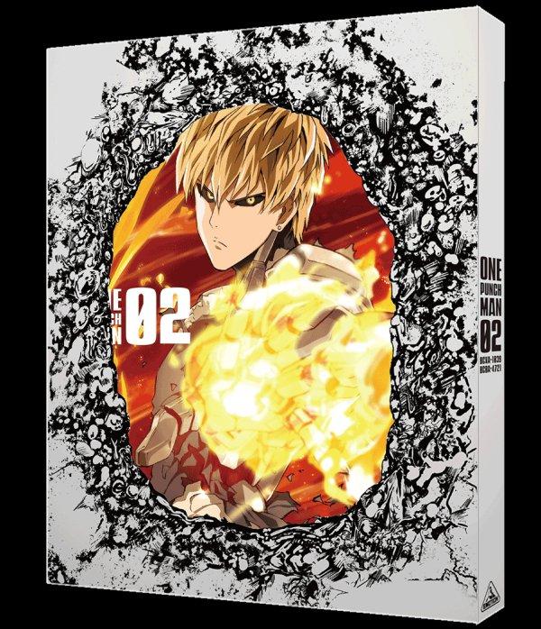 One-Punch Mana Japanese Volume 2 Slipcover