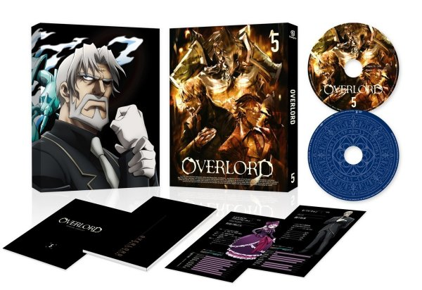 Overlord Japanese Volume 5 Packaging