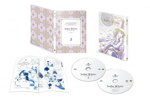 Snow White with the Red Hair Japanese Volume 5 Packaging (click for larger)