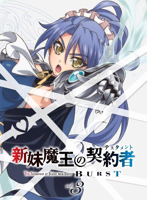 Testament of Sister New Devil Burst Japanese Cover 3 Cover