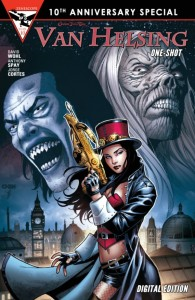 Van Helsing One-Shot Cover
