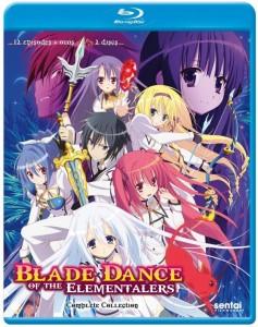 Blade Dance of Elementalers Blu-ray Cover