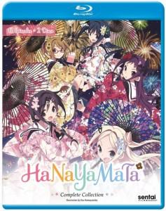 Hanayamata Blu-ray Cover