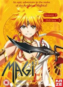 Magi Season 2 Part 2 UK DVD Cover