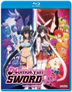 Momokyun Sword Blu-ray Cover