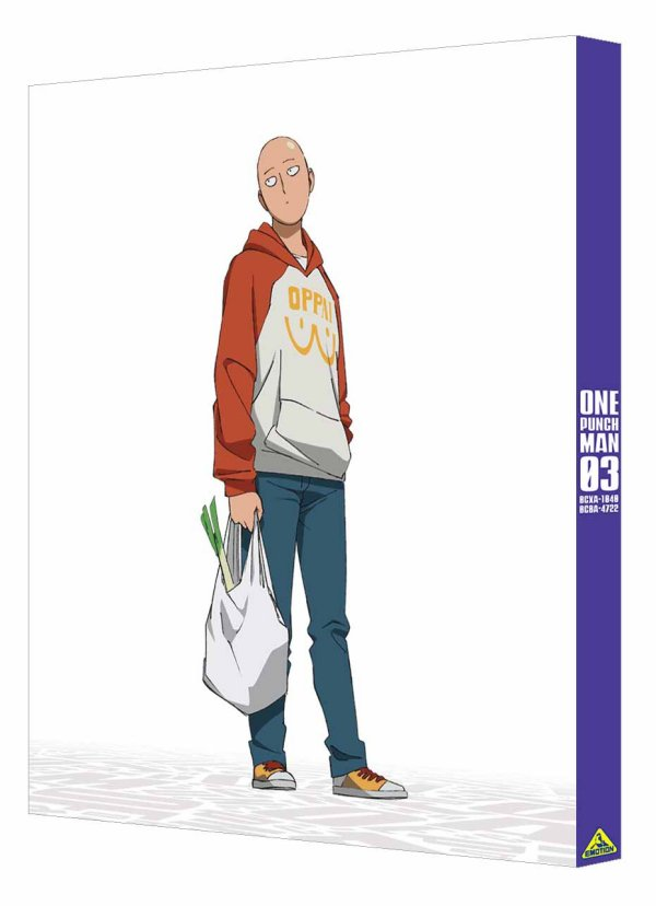 One-Punch Man Japanese Volume 3 Back Cover