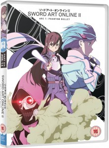 Sword Art Online II UK DVD Cover