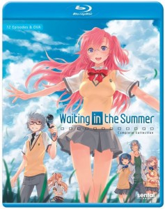 Waiting in the Summer Blu-ray Cover