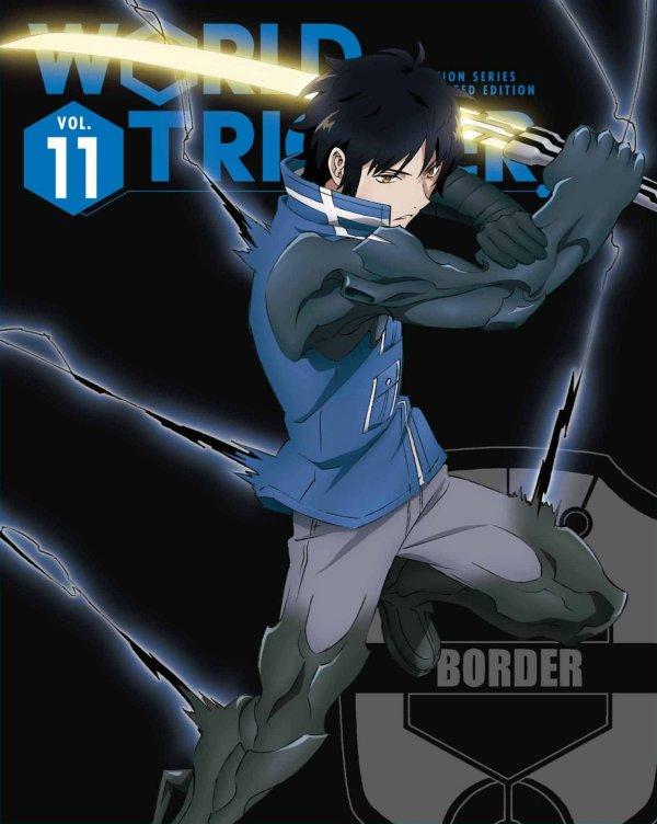 World Trigger Japanese Volume 11 LE Cover