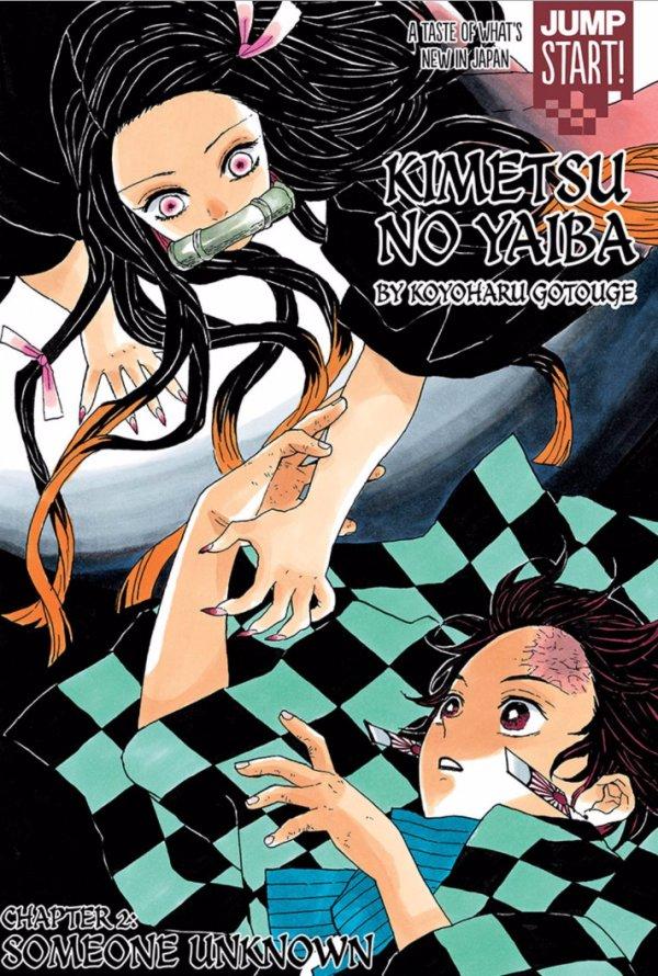 Kimetsu no Yaiba Chapter 2 Visual