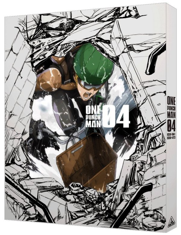 One-Punch Man Japanese Volume 4 Cover