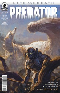 Predator Life and Death Issue 1 Cover