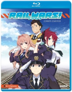 Rail Wars Blu-ray Front Cover
