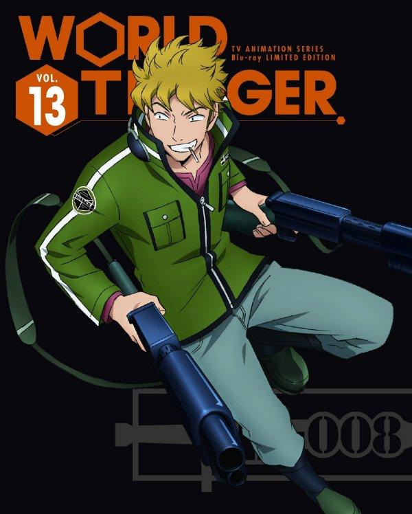 World Trigger Japanese Volume 13 LE Cover