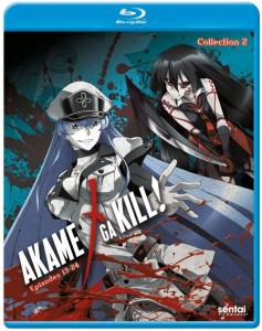 Akame ga KILL Collection 2 Blu-ray Front Cover