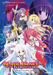 Blade Dance of the Elementalers DVD Complete Collection
