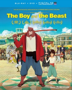 Boy and the Beast DVD-BD Cover