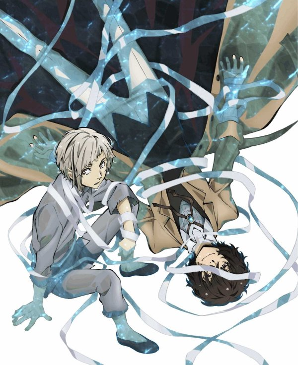 Bungou Stray Dogs Japanese Volume 1 Cover