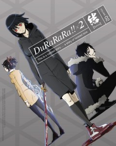 Durarara X2 Ketsu Japanese Volume 2 Cover