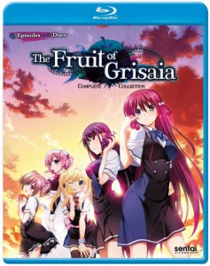 Fruit of Grisaia Blu-ray Front Cover