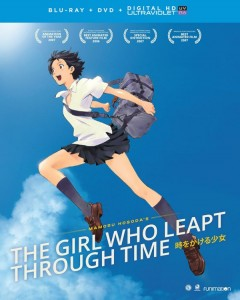 Girl Who Leapt Through Time DVD-BD Cover