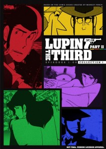 Lupin the 3rd Part 2 Collection 1 Header