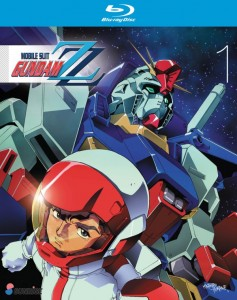 Mobile Suit Gundam ZZ Collection 1 BD Cover