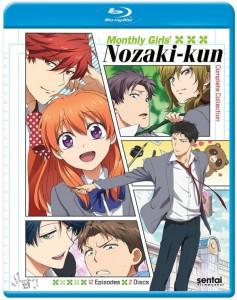 Monthly Girls Nozaki-kun Blu-ray Cover