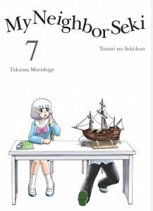 Seki-kun Volume 7 Cover