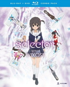 Selector Spread WIXOSS DVD-BD Cover