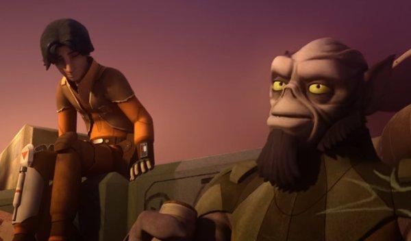 "Star Wars Rebels Season 2 Episode 20: ""The Mystery of Chopper Base"""