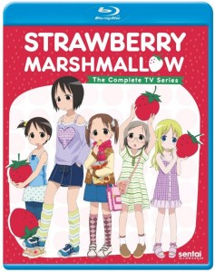 Strawberry Marshmallow TV Blu-ray Front Cover